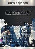 Dishonored 2 Throne - Puzzle 1000 Piezas 68cm x 48cm   Incluye póster y Bolsa   Videojuego   Puzzle para Adultos y Adolescentes