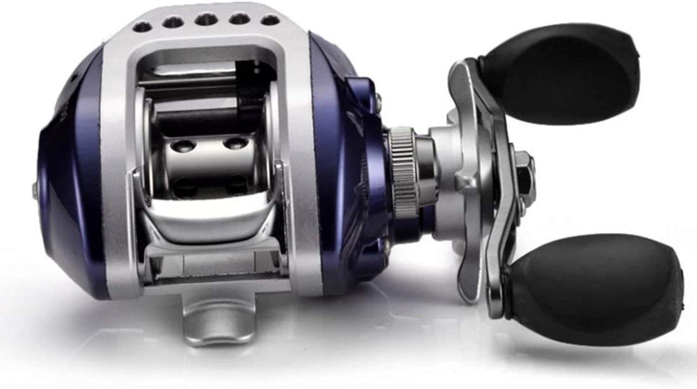 KERVINJESSIE Metal Road Luya Wheel Water Drop Wheel 6.3 1 High Speed 10+1 Stainless Steel Bearing for Luya Squid Ice Fishing