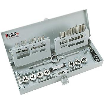 Hepyc 28410000001 - Estuche para roscado, ØMF3.4.5.6.8.10.12mm(MF3 a 12mm.): Amazon.es: Bricolaje y herramientas