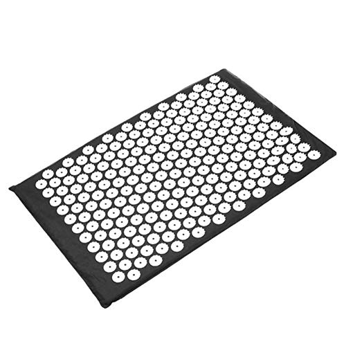 Great Deal! LMCS Acupressure Mat Head Neck Back Foot Massage Cushion Pillow Yoga Spike Mat Anti-Stre...