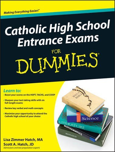 Catholic High School Entrance Exams For Dummies by Lisa Zimmer Hatch (2010-04-05)