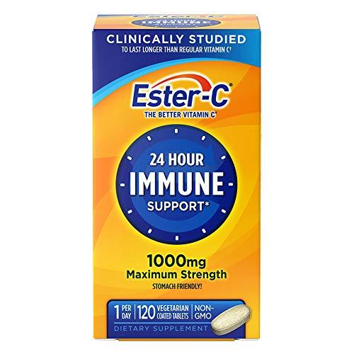 Ester-C, 1000 mg, 120 comprimidos recubiertos Veggie - Obsequio de la Naturaleza