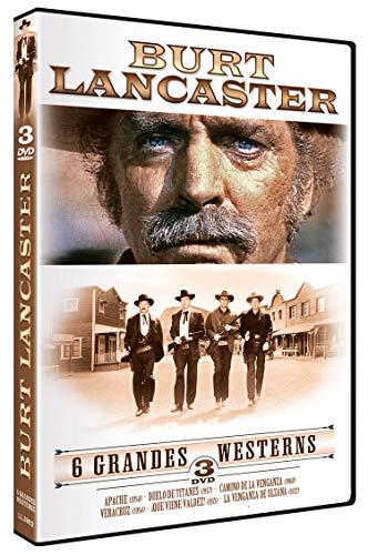 Burt Lancaster - 6 Grandes Westerns [DVD]
