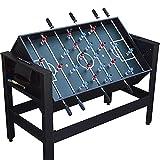 WERTYU Fooseball Multifuncional America Club Máquina de Mesa de futbolín Cue Snooker Bola de Billar Fútbol Fútbol Tenis de Mesa Juego de Hockey sobre Hielo Regalo(Color:2 in 1)