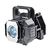 for Epson Home Cinema 8350 Replacement Bulb ELPLP49 V13H010L49 Epson H373a Lamp H419a Projector Replacement Lamp with housing.