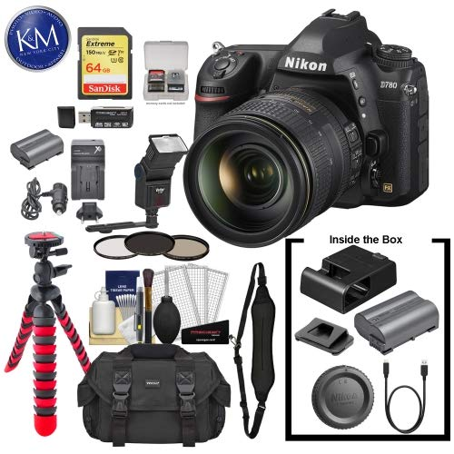 Best Review Of Nikon D780 DSLR Camera with 24-120mm Lens with 64GB Extreme SD Card, 6Pc Cleaning Kit...