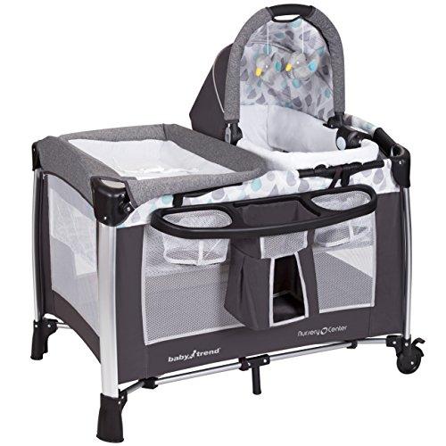 Baby Trend Go Lite ELX Nursery Center, Drip Drop Blue