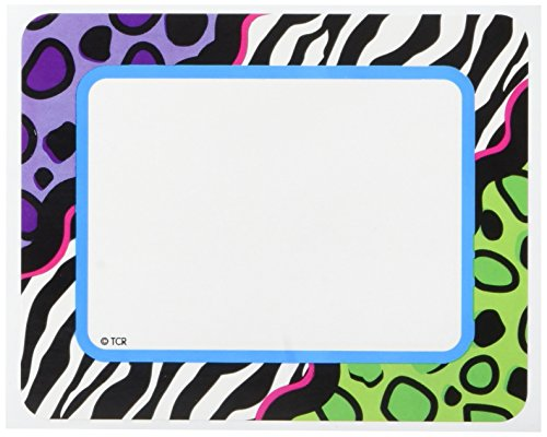 Teacher Created Resources 70117 Colorful Leopard Labels