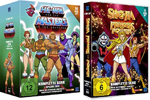 He-Man and the Masters of the Universe - Die komplette Serie + She-Ra - Princess of Power - Die komplette Serie [20 DVDs]