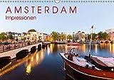 AMSTERDAM Impressionen (Wandkalender 2019 DIN A3 quer): 13 faszinierende Aufnahmen von Amsterdam, der Hauptstadt der Niederlande. (Monatskalender, 14 Seiten ) (CALVENDO Orte) - Werner Dieterich
