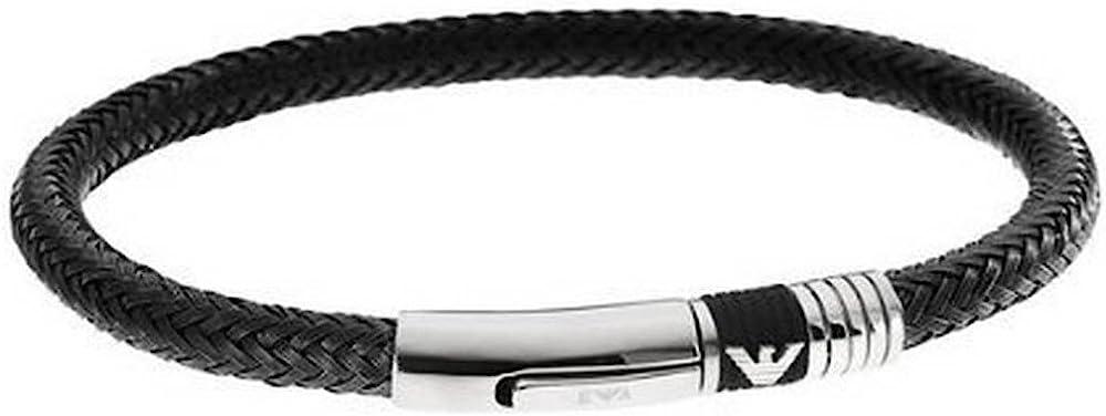Emporio armani bracciale uomo  in acciaio inossidabile  EGS1624001