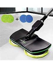 コードレス電気回転モップ、充電式家庭用掃除モップ、手持ち式回転メイド床クリーナー、電気スクラバー研磨機モップカーペットクリーナー、リビングルームベッドルームダイニングルームで使用