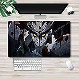 Akame ga Kill! Alfombrilla de ratón de anime grande para escritorio de ordenador teclado Esdese Esdeath Night Raid juego alfombrilla 121157