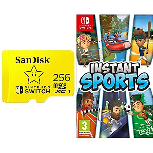 SanDisk Carte Nintendo Switch 256 Go + Instant Sports