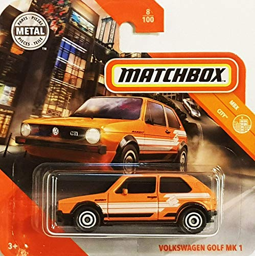 Matchbox* Volkswagen Golf MK 1 - 1:64 - orange