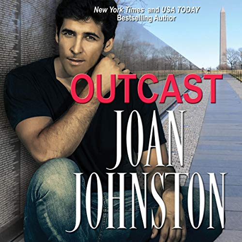 Outcast audiobook cover art