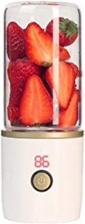 N/ A Centrifugeuse électrique portative de Petit Presse-Agrumes de ménage avec la Mini Tasse Rechargeable de jus de Fruit,...