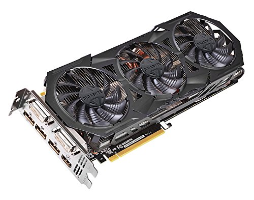 Gigabyte GV-N970G1 GAMING-4GD Graphic Card (PCI-e 4GB GDDR5 DP, HDMI, DVI-D, DVI-I, 1x GPU)