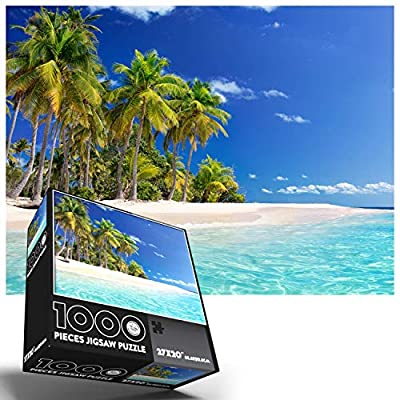 Hawaii Puzzle | Puzzles for Adults 1000 Piece Beautiful Beach Scenes | Jigsaw Puzzles 1000 Pieces for Adults | 1000 Piece Puzzles for Adults | from FUN TRIBE CREW