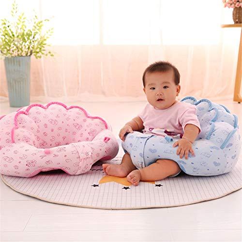 Reeseiy Uni Best Baby Sitting Sillón Chic Casual Funda De Almohada para Habitación De Niños Patrón De Colores Lovely Kids Baby Support Soft Pillow Cojín Sofá Juguete De Felpa Muebles para Niños Silla