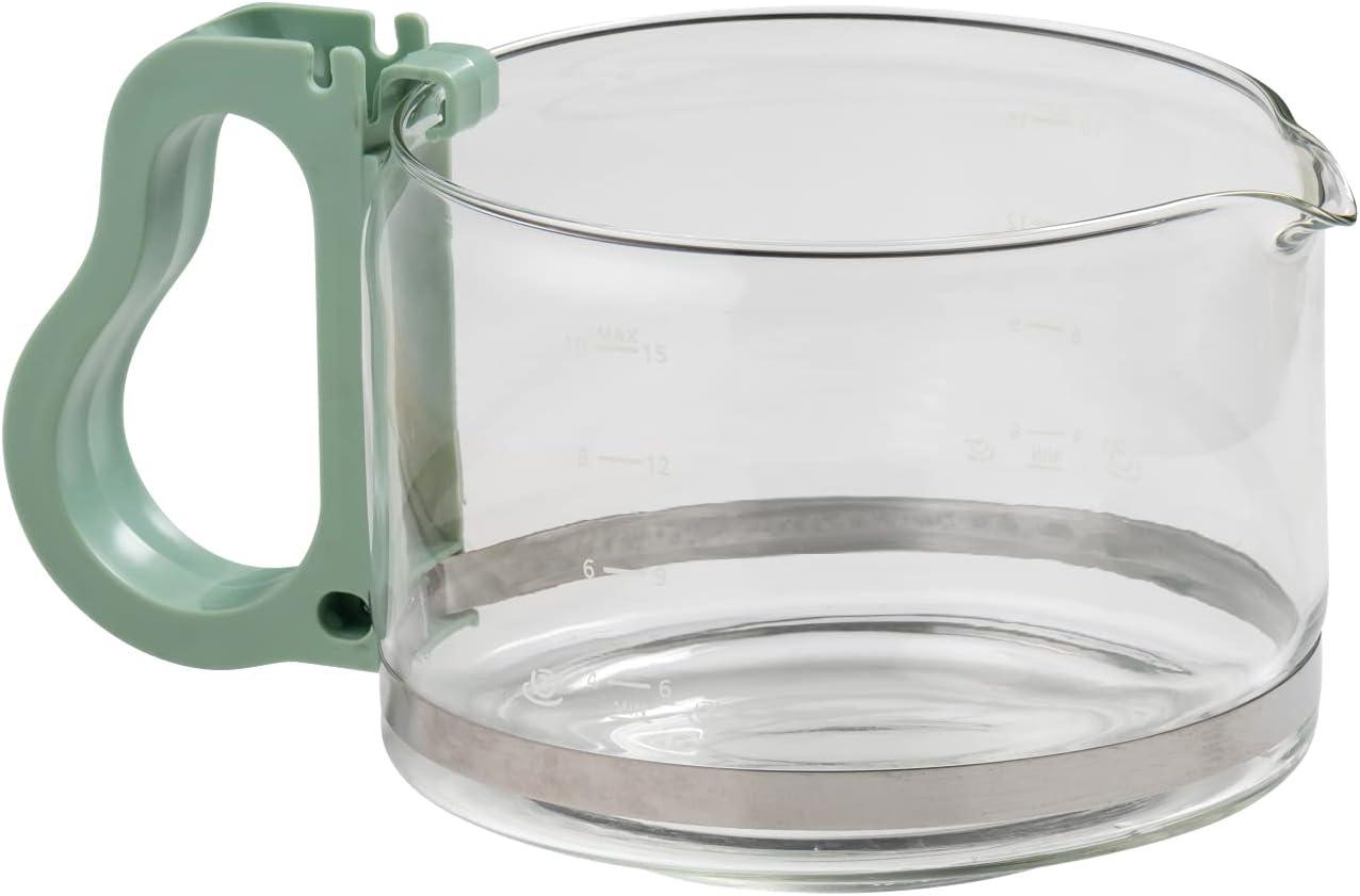 Fackelmann Jarra Philips: 444, Cristal, Verde, 13,6x 10,1x 10,2cm