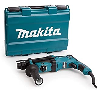 Makita  HR2630 - Martillo rotativo combinado (26Mm, 230-240