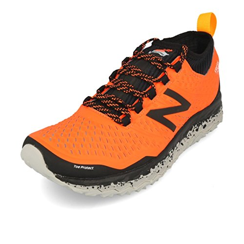 New Balance Hierro V3 Orange Black - Zapatillas de running Size: 44 EU