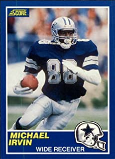 1989 Score #18 Michael Irvin RC - Dallas Cowboys
