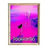 FANART369 Pocahontas #2 Poster A3 Größe Filmposter
