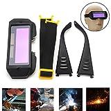 Gafas de soldar con oscurecimiento solar automático, gafas de soldar, 2 vías
