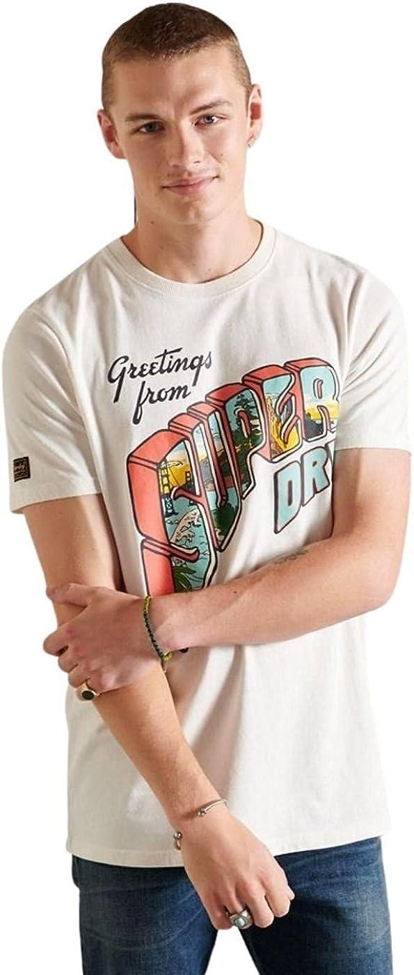 Superdry Heritage Mountain tee Camiseta para Hombre