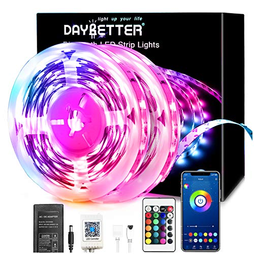 Daybetter Bluetooth Led Lights 65.6ft