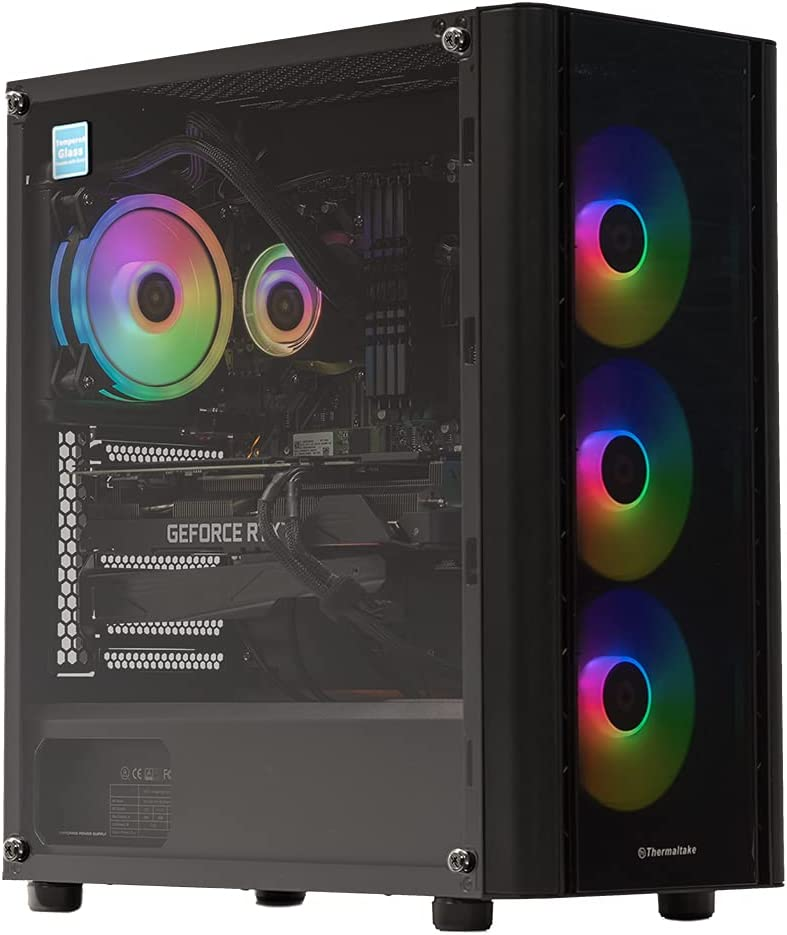 quality assurance Velztorm Archux Gaming Entertainment Desktop PC Max 84% OFF Black AMD Ryz
