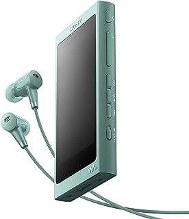 ソニー SONY ウォークマン Aシリーズ 32GB NW-A46HN : Bluetooth/microSD/ハイレゾ対応 最大39時間連続再生 ノイズキャンセリングイヤホン付属 2017年モデル ホライズングリーン NW-A46HN G