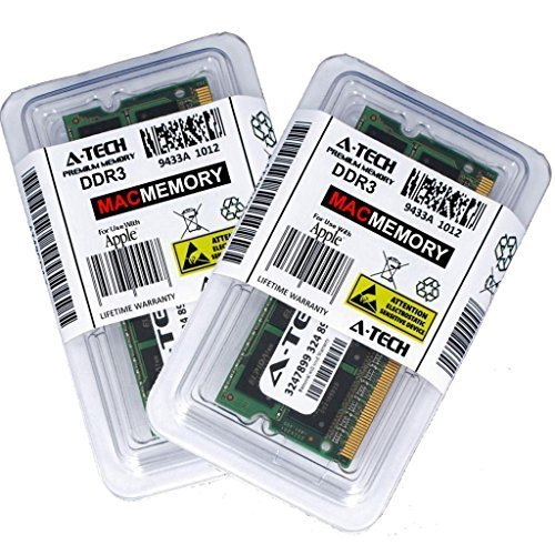 A-Tech for Apple 16GB Memory Ram Kit 2X 8GB PC3-12800 1600MHz MacBook