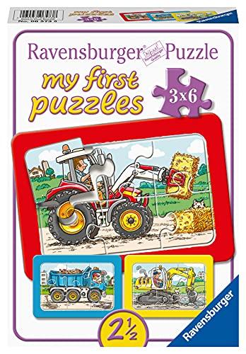 3 puzzle ravensburger Ravensburger 06573 - My First Puzzle 3x6 Pezzi