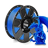 2021 Latest Creality PLA Filament 3D Printer Filament 1.75mm, 2.2lbs Spool for All Creality Ender, CR Series 3D Printer and 3D Pen, Blue