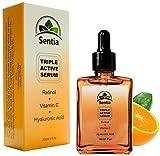 Best Vitamin C Serum + Hyaluronic Acid + Retinol serum for the face
