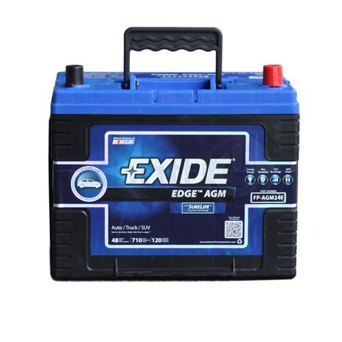 Exide Edge FP-AGM24F Flat Plate AGM Sealed Automotive Battery