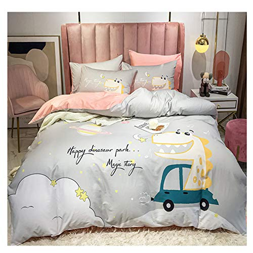 XiXiShangMao Osaka Four-Piece Household Four-Piece Cotton Quilt Cover, Bed Linen And Four-Piece Set 1.5x2 Meter Bed Sheet Type