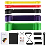 Allvodes Pull up bands, Resistance Bands Set, Pull Up Assist Bands, Exercise Bands Set with Door...