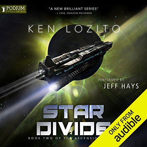 Star Divide     Ascension, Book 2              By:                                                                                                                                 Ken Lozito                               Narrated by:                                                                                                                                 Jeff Hays                      Length: 7 hrs and 32 mins     16 ratings     Overall 4.7