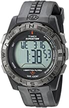 Timex Men's T49851 Expedition Vibrating Alarm Black Resin Strap Watch