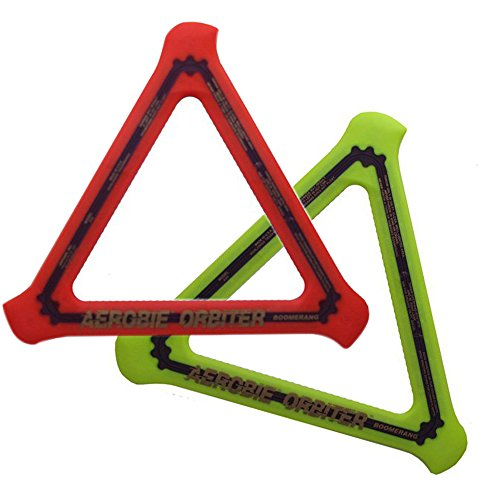 Aerobie Orbiter Boomerang 13quot Diameter Assorted Colors Set of 2