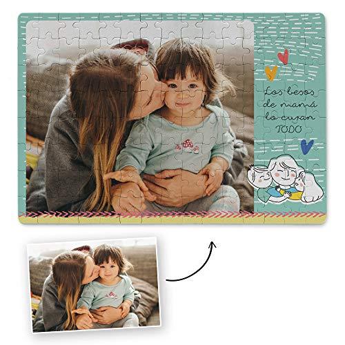Puzzle Personalizado con Foto para el día de la Madre | Regalo Original (Madre 1)