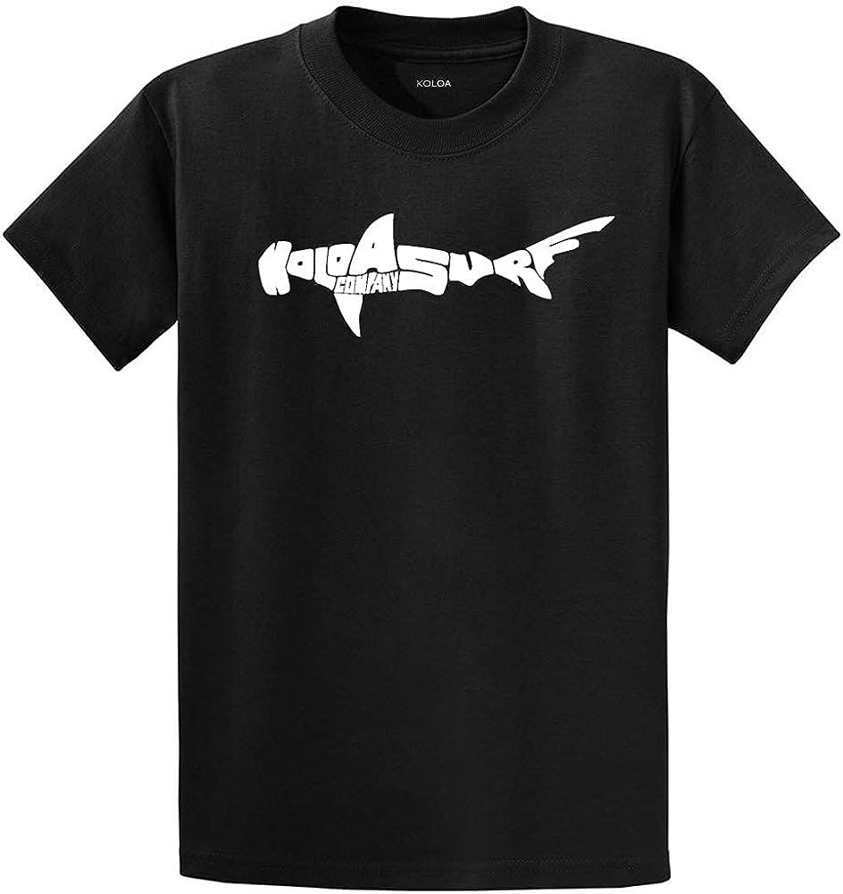 Koloa Surf Co. Hammerhead Shark Raleigh Mall T-Shirts Tal Big in and Ultra-Cheap Deals Regular