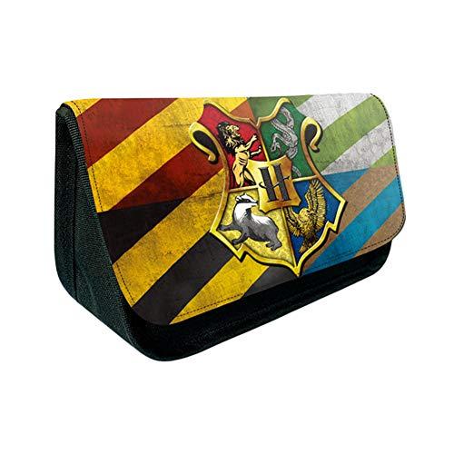 JPYH Astuccio per Penne, Harry Potter Astuccio per Matite Piccolo Astucci Studenti Cartoleria Sacchetti Portapenne Portapenne grande capacità per studenti, ragazzi