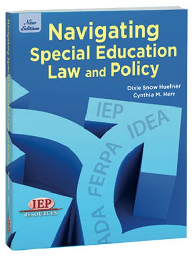 Navigating Special Education Law and Policy