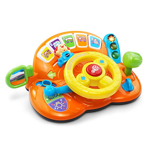VTech Turn and Learn Driver - Orange - Online Exclusive