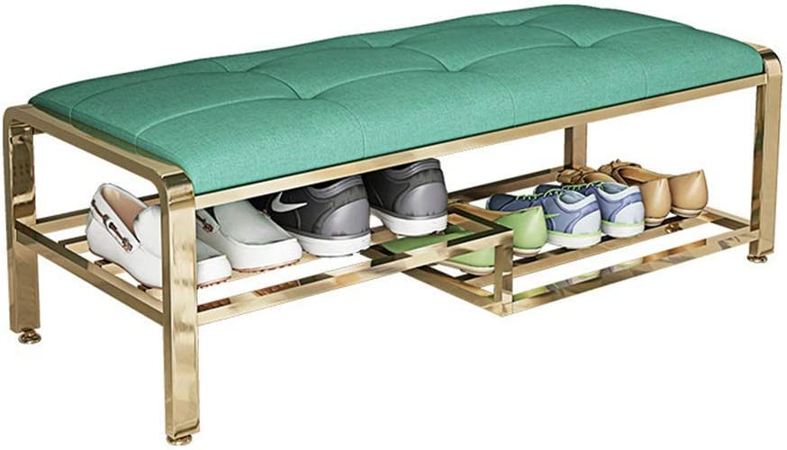 Inventory cleanup selling sale LIMEI-ZEN Storage Rack Shipping included Comfortable Shoe U Bench Metal